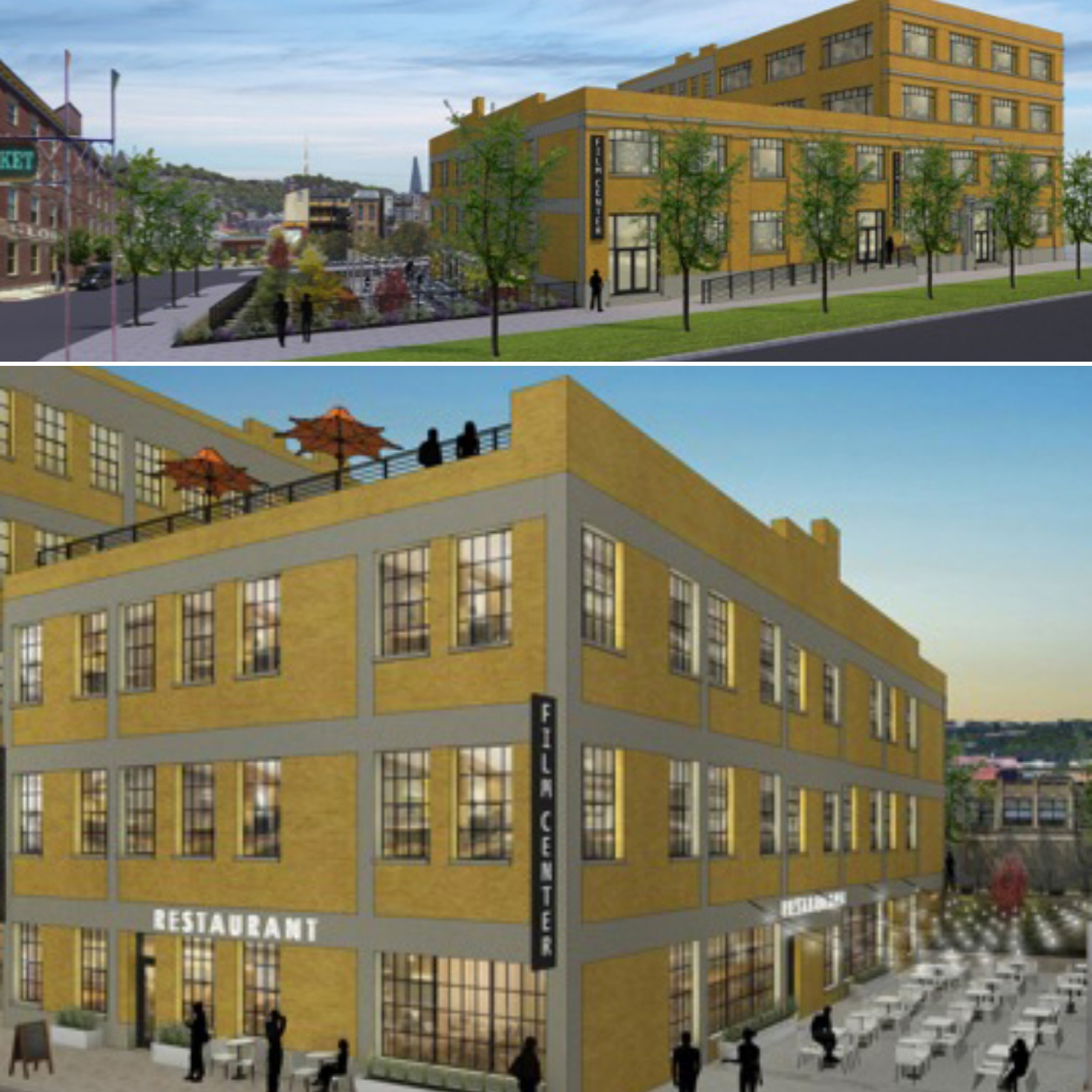 Film Center Is Being Transformed By Urban Sites Into A Multimillion Dollar  Mixed Use Project. There Will Be Almost 50 Apartments And Over 10,000  Square Feet ...